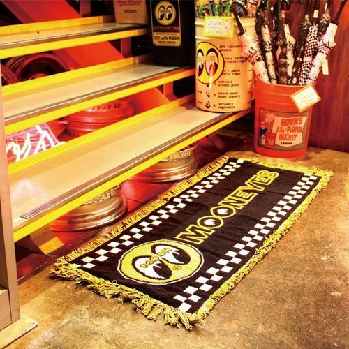 MOONEYES LONG RUG MAT [ MG625BK ]