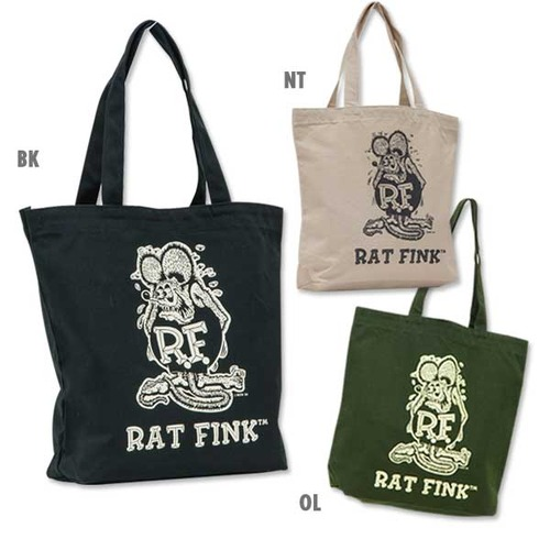 Rat Fink New Color Tote Bag [ RAF416 ]