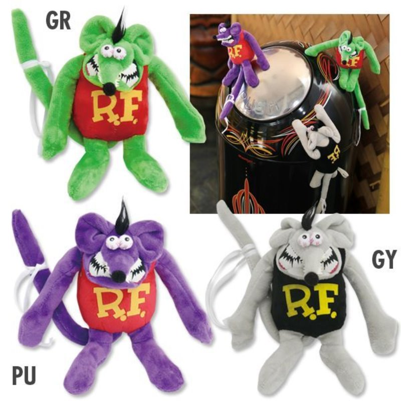 Rat Fink Magnetic Plush [RAF524]