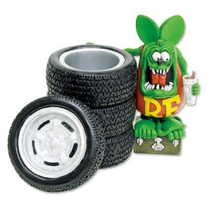 Rat Fink Tire Pen Stand [RAF437]
