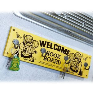 Rat Fink Wood Hook Board [RAF482] (1kg)