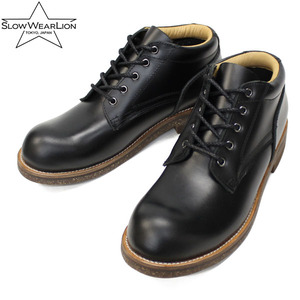 OILED LEATHER OXFORD