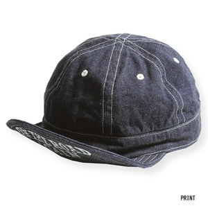 ARMY CAP : BLUE DENIM