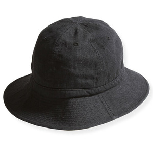 ARMY HAT : BLK DENIM