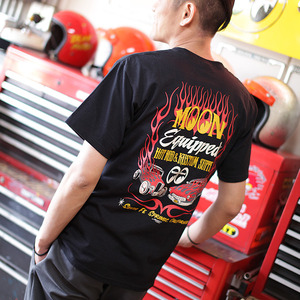 HOT ROD & KUSTOM SUPPLY T-Shirts [MQT084BK]