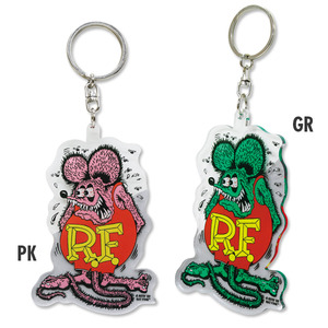 Rat Fink Clear Key Ring [ RKF049 ]