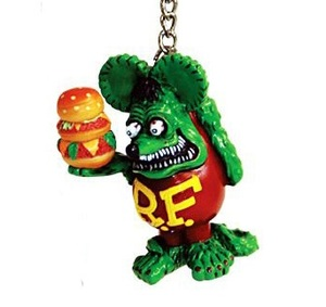 "Ed ""BIG DADDY""Roth Rat Fink 키체인 [ RKF024RF ]"