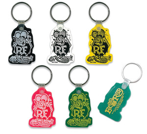 Rat Fink Soft Rubber Key Ring [ RKF020 ]