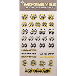 MOONEYES ASSORTMENT Decals [ DM067 ]
