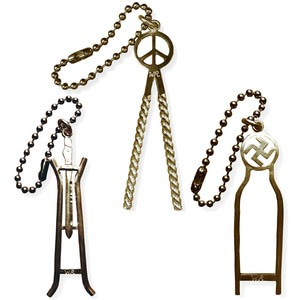 SISSY BAR KEY CHAIN BRASS