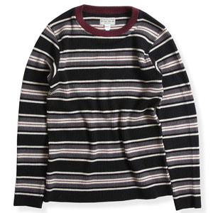 CLASSIC RIB MULTI SWEATER