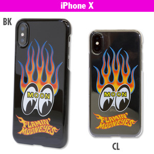 Flamin 'MOON iPhone X Hard Case [ MG803 ]