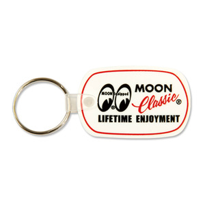 MOON Classic Rubber Key Ring [ QMG018 ]