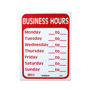 BUSINESS HOURS [ IGBH-1 ]