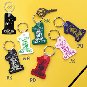 Rat Fink # 1 Key Ring [ RKF040 ]