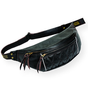RIDING WAIST BAG (Horse Hide)