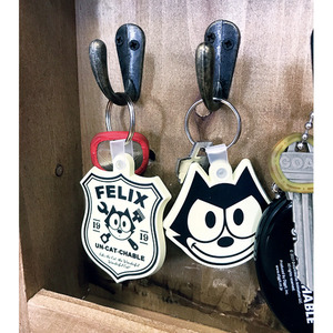Felix Un-Cat-Chable Rubber Key Rings [ KGAZF431 ]
