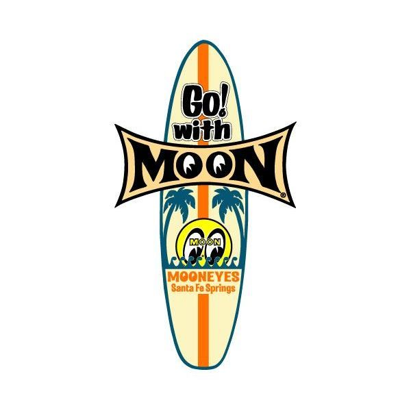 MOON Surfboard Sticker [ DM147 ]