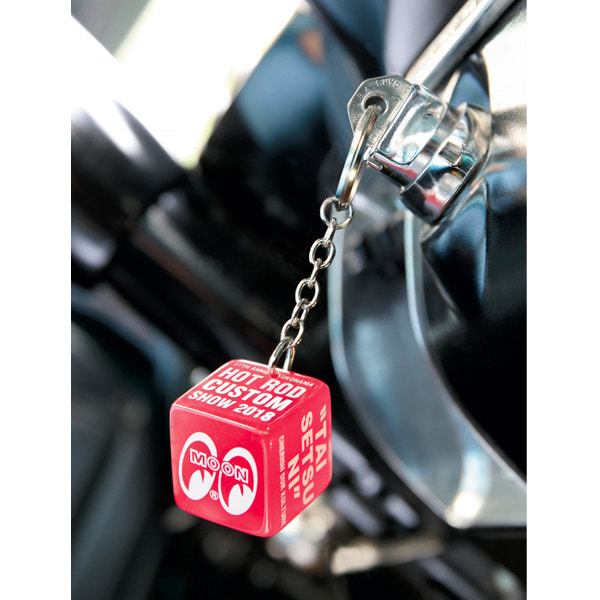 "YOKOHAMA HOT ROD CUSTOM SHOW ""TAISETSUNI""KEY RING [ MKR164 ]"